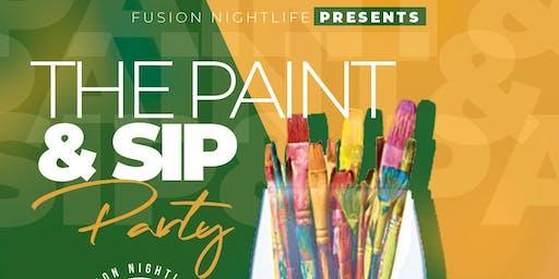 Paint & Sip at Fusion Nightlife 12/12