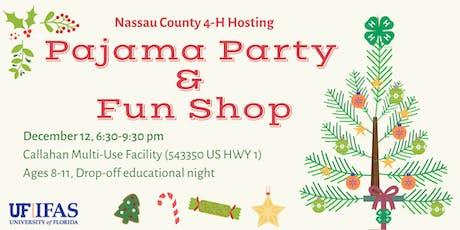 Nassau County 4-H Holiday Funshop & Pajama Party tickets