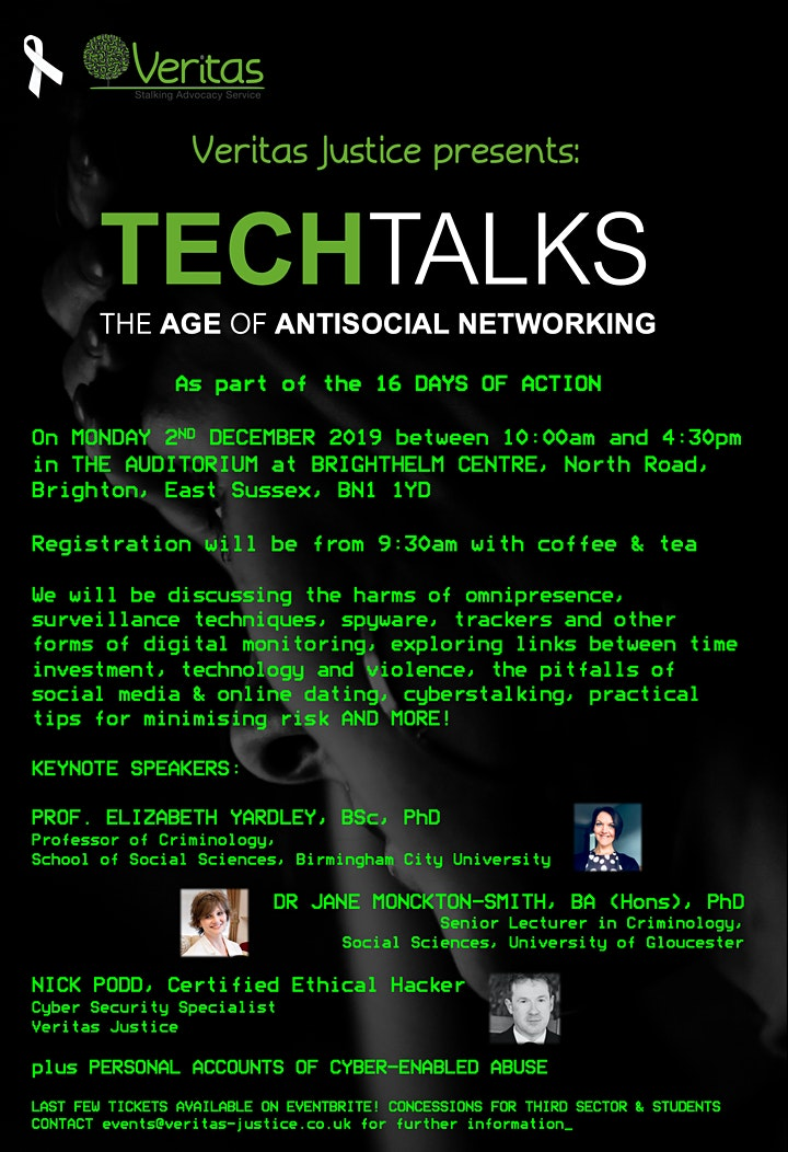 Tech Talks: The Age of Antisocial Networking image