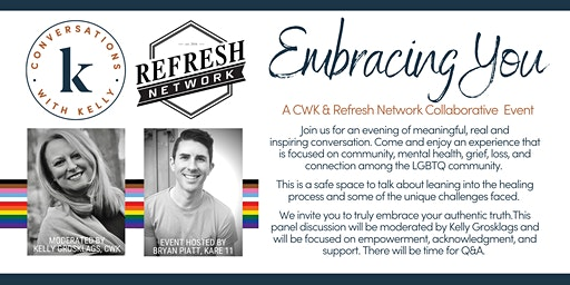 Embracing You - A Conversations with Kelly & Refresh Network Collaborative Event