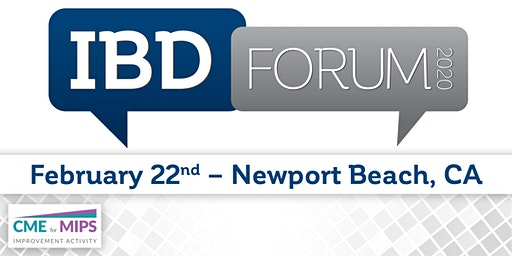 IBD Forum 2020 - Newport Beach, CA