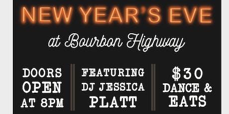 New Years Eve at Bourbon Highway Walnut Creek tickets