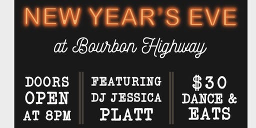 New Years Eve at Bourbon Highway Walnut Creek