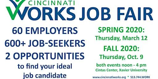 Cincinnati Works 2020 Job Fairs