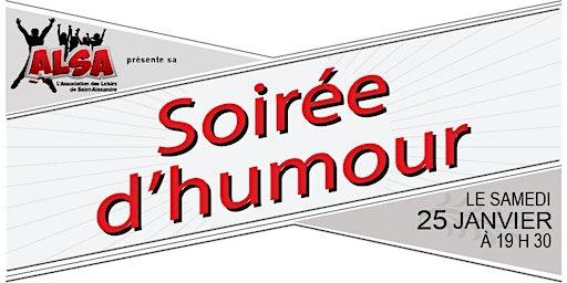 Spectacle d'humour ALSA - Stéphane Fallu