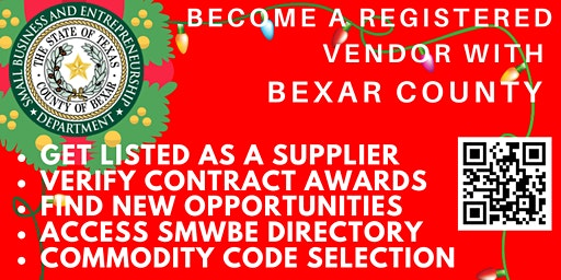 Bexar County SMWBE CDMS Workshop - December 2019