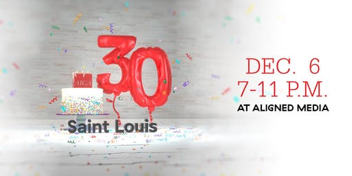 AIGA STL 30th Birthday Party