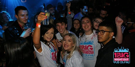 Spring Break! The Spring Bank Holiday Frat Party bar crawl tickets