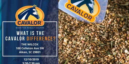 Come learn about the Cavalor Difference!