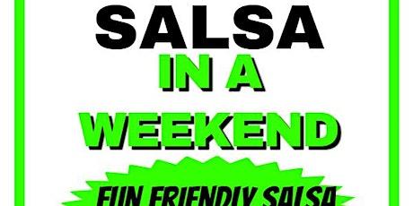 Learn Salsa In A Weekend tickets