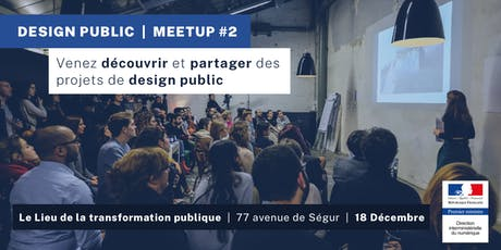 Design Public - Meetup #2 billets