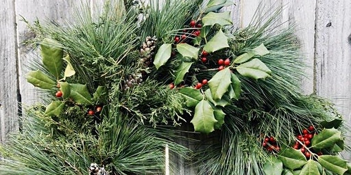 Holiday Wreath Making at Wise Bird Cider Co.
