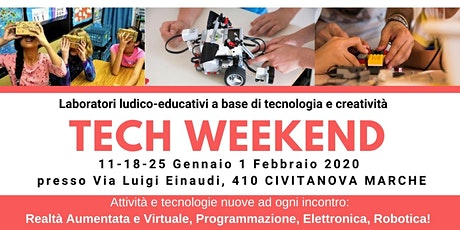 TECH WEEKEND Civitanova Marche - Laboratori tecnologici per tante fasce d'e tickets