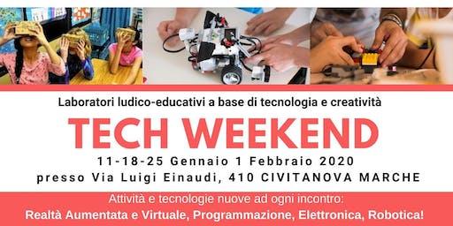 TECH WEEKEND Civitanova Marche - Laboratori tecnologici per tante fasce d'e