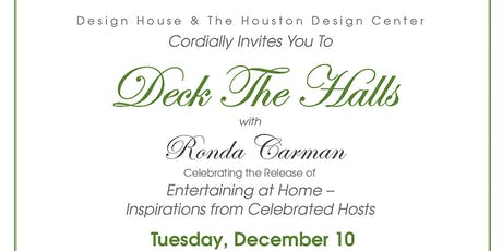 Deck the Halls with Ronda Carman - Celebrating the Release of Entertaining at Home  tickets