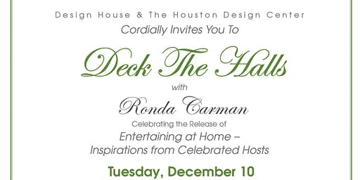 Deck the Halls with Ronda Carman - Celebrating the Release of Entertaining at Home