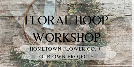 Floral Metal Hoop Workshop tickets