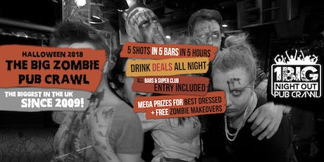 London's Biggest Halloween Zombie Pub Crawl 2020 tickets