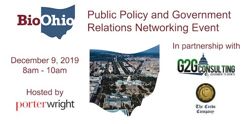2019 BioOhio Public Policy and Government Relations Networking Event