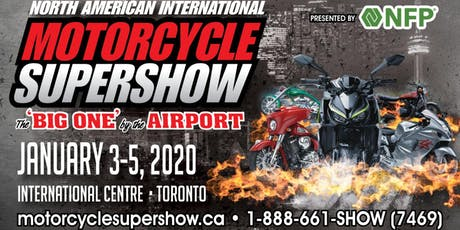 North American International Motorcycle Supershow 2020 tickets