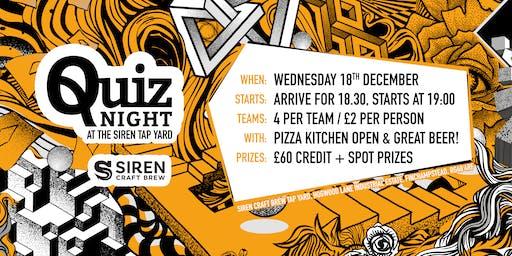 Siren Craft Brew- Quiz