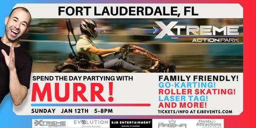 Party with Murr at Xtreme Action Park in Fort Lauderdale Florida! By EJB
