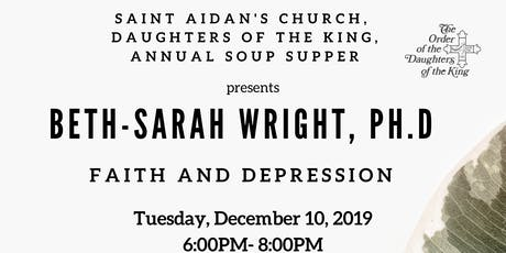Saint Aidan's Episcopal Church, Daughters of the King, Annual Soup Supper tickets