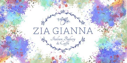 Paint Night at Zia Gianna
