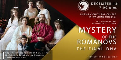 Mystery of the Romanovs - Final DNA - Lecture and Discussion