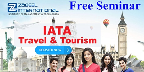 Free Seminar on Employment Opportunities in Travel & Tourism Industry tickets