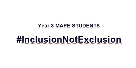 Year 4 PE Research Conference:  #InclusionNotExclusion tickets