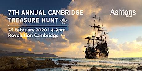 Ashtons Legal Cambridge Treasure Hunt 2020 tickets