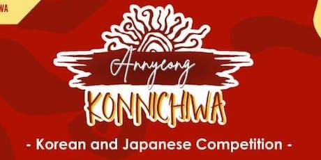 Annyeong Konnichiwa tickets