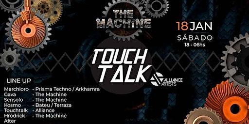 The Machine Apresenta: Touchtalk