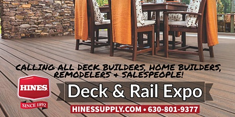 Hines Decking & Railing Expo tickets