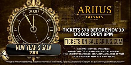 ARIIUS' New Year's Eve Gala tickets