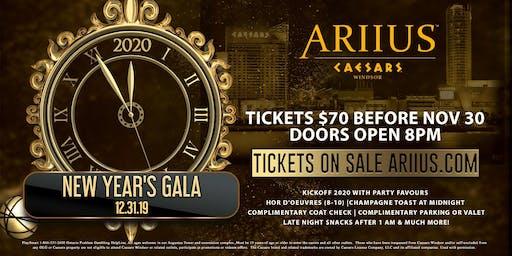 ARIIUS' New Year's Eve Gala