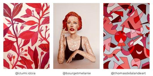 LE NOUVEAU VERNISSAGE  : ARTY SHOW X LA GALERIE QUARTUS