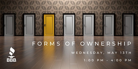 Forms of Ownership Workshop tickets