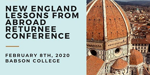 New England Lessons From Abroad Returnee Conference 2020