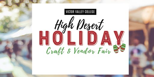 High Desert Holiday Craft & Vendor Fair