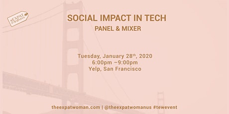 Social Impact in Tech Panel and Mixer  tickets
