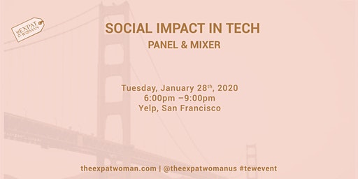 Social Impact in Tech Panel and Mixer