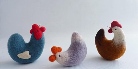 Needle-Felted Chickens with Gretel Parker tickets