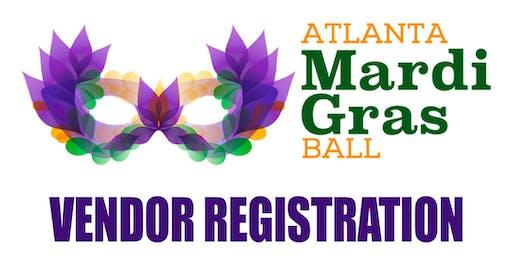 Atlanta Mardi Gras Ball 2020 - Vendor Registration - Ninth Annual