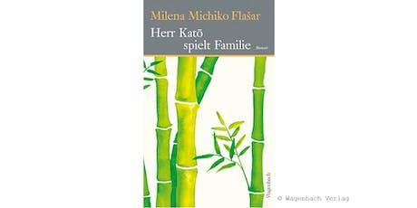 "Book Club Meeting: ""Mr. Katō spielt Familie"" by Milena Michiko Flašar tickets"