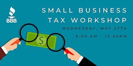 Small Business Tax Workshop tickets