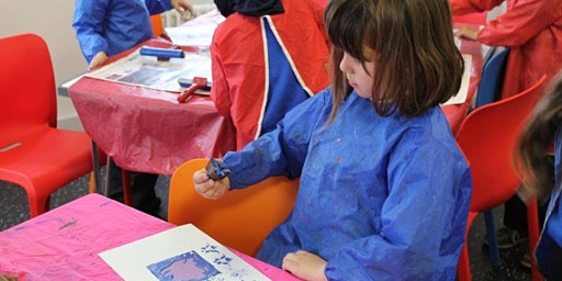 Safe & Simple Printmaking at Key Stage 1 & 2 on 3rd & 10th February 2020