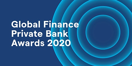 Global Finance Private Bank Awards Dinner 2020 tickets