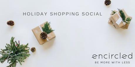 December In-Studio Social - Holiday Shop tickets